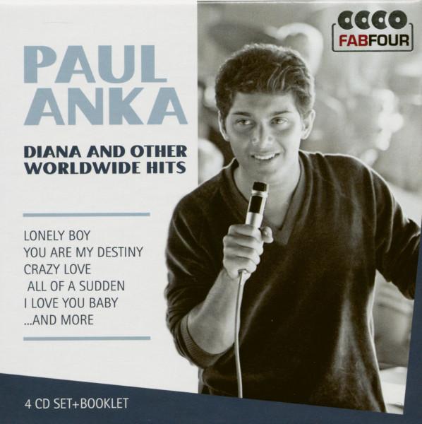 Dana And Other Worldwide Hits (4-CD)