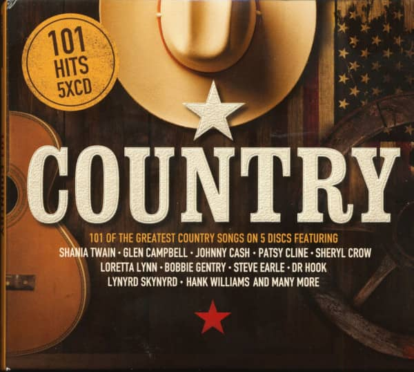 101 Country (5-CD)