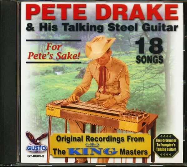 Pete & His Talking Steel Guitar - For Pete's Sake (CD)