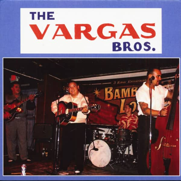 The Vargas Bros. - Rockin' Blues (CD)