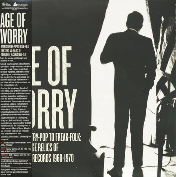 Age Of Worry - From Country-Pop To Freak-Folk - The Space Age Relics Of Monument Records 1960-1970 (LP)