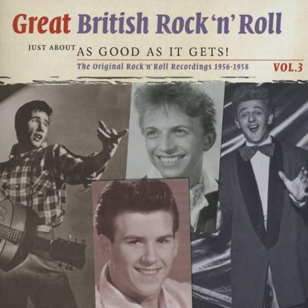 Vol.3, British R&R - As Good As It Gets 2-CD