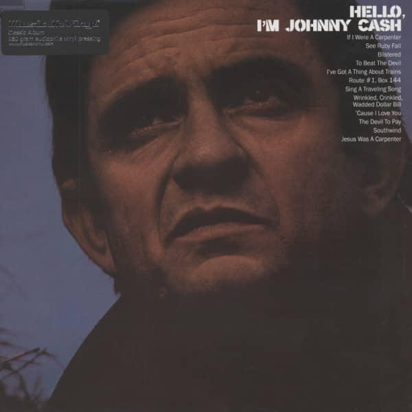 Hello, I'm Johnny Cash (1970) 180g Vinyl