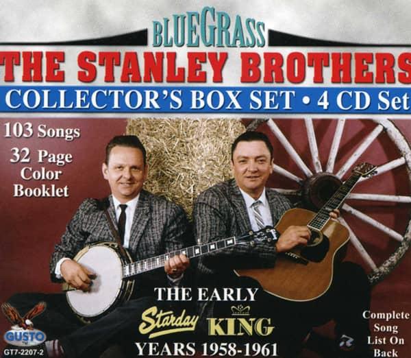 Starday-King Years 1958-61 (4-CD)