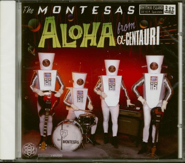 Aloha From Alpha-Centauri (CD)