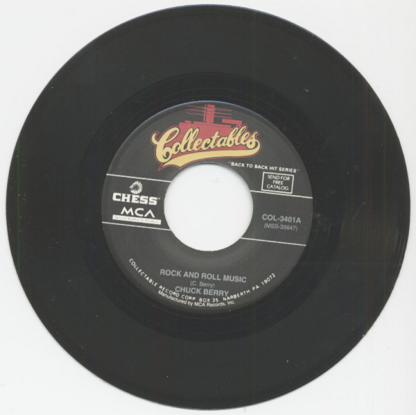 Rock And Roll Music - Back In The U.S.A. (7inch, 45rpm)