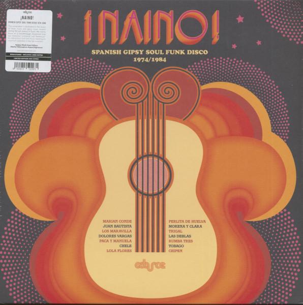 Naino - Spanish Gipsy Soul Funk Disco 1974-1984 (LP, Ltd.)