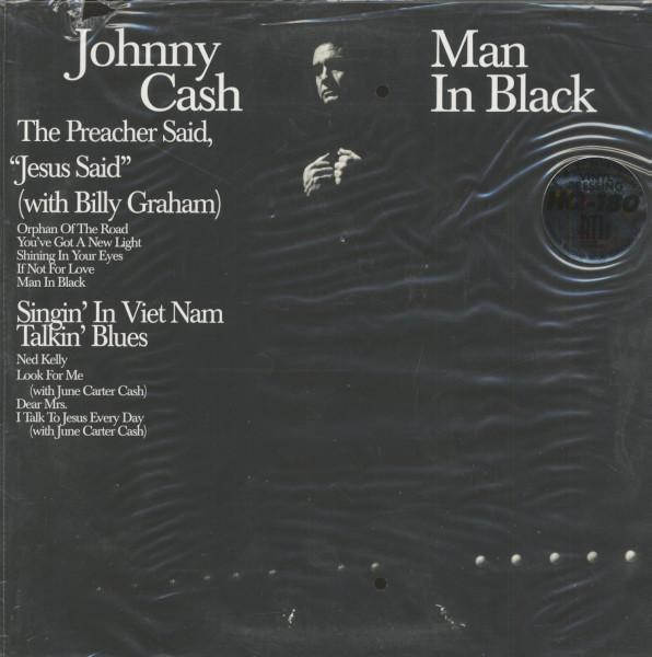 Man In Black (LP, 180g Vinyl, Ltd. Deluxe Edition)