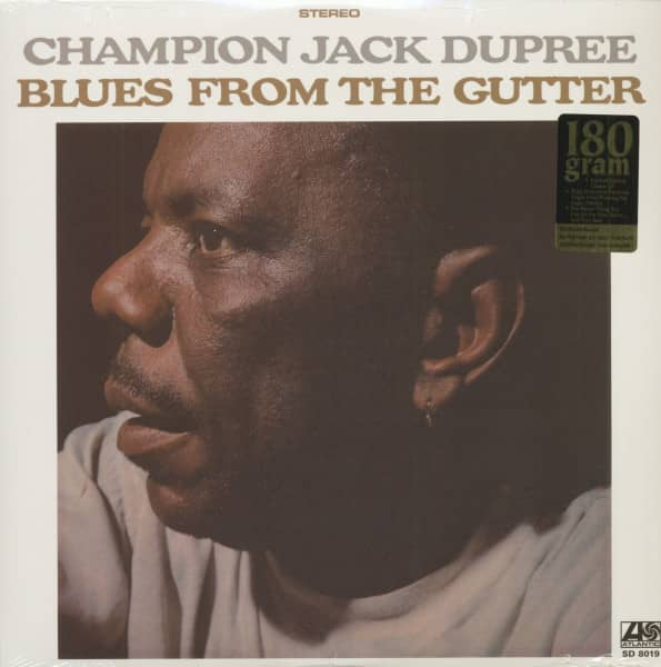 Blues From The Gutter (LP, 180g Vinyl, Ltd.)
