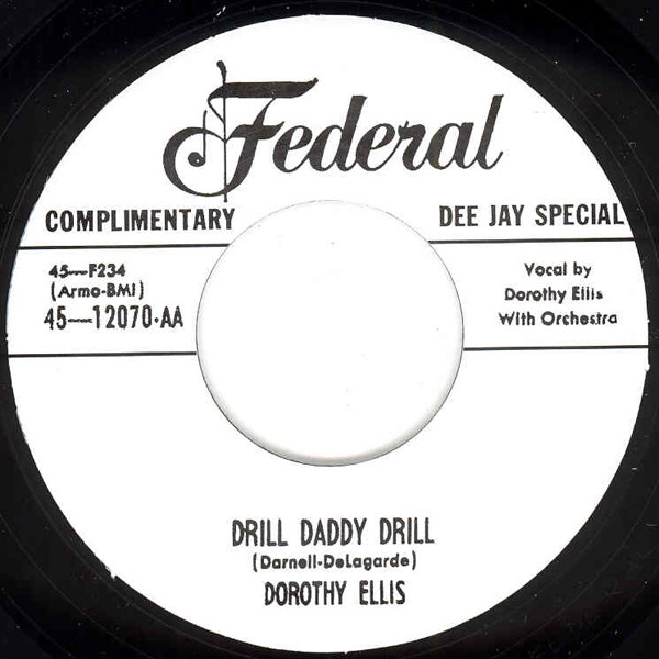 Drill Daddy Drill - Must Go Out And Play 7inch, 45rpm