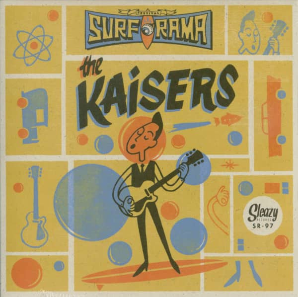 The Kaisers - Surf-O-Rama 2015 Special Limited Edition EP