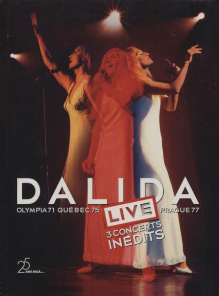 Concerts(Olympia'71 - Quebec'75 - Prague'77)3-DVD
