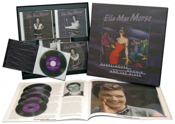 Barrelhouse, Boogie And Blues (5-CD Deluxe Box Set)