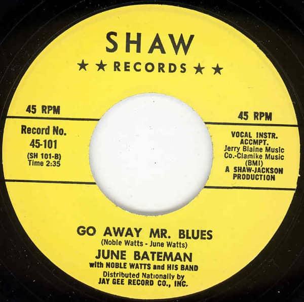 Go Away Mr. Blues b-w Possum Belly Overalls 7inch, 45rpm