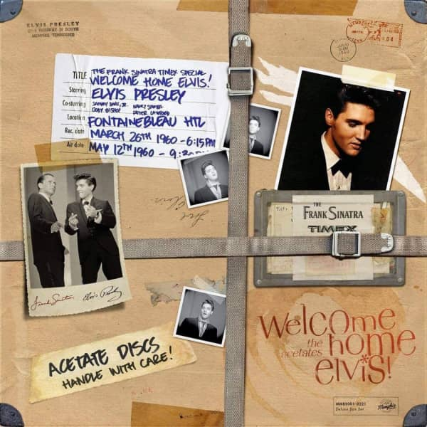 Welcome Home Elvis! The Acetates (3-LP Deluxe Box Set)