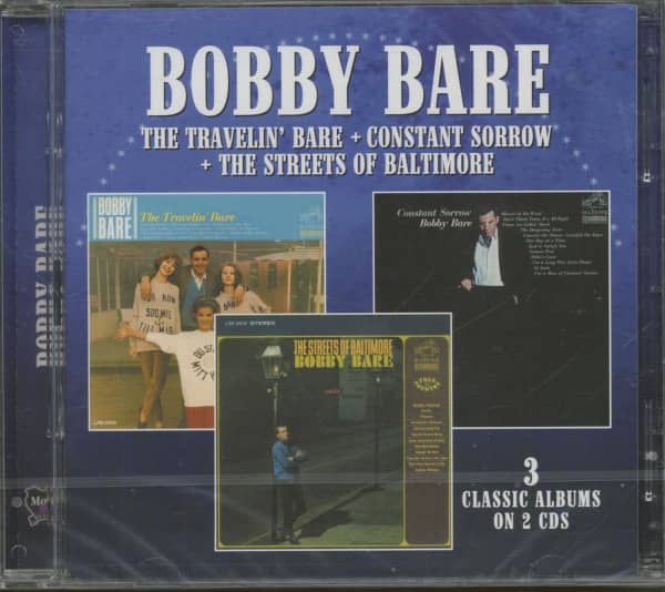 The Travelin' Bare - Constant Sorrow - The Streets Of Baltimore (2-CD)