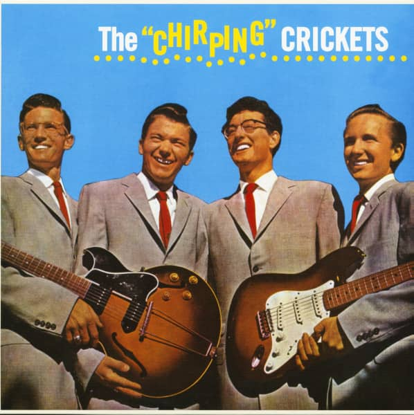 The Chirping Crickets (LP, 180g, Colored Vinyl, Ltd.)