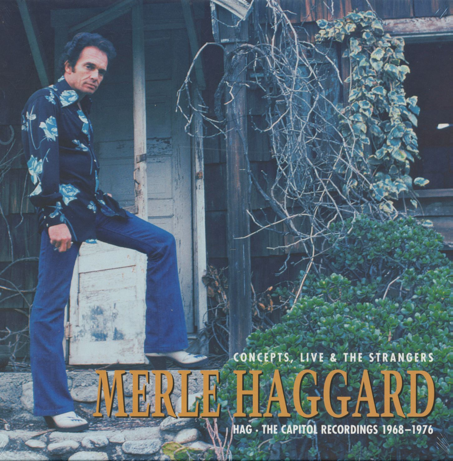 Merle Haggard Hag - Concepts, Live & The Strangers - The Capitol Recordings  (6-CD)