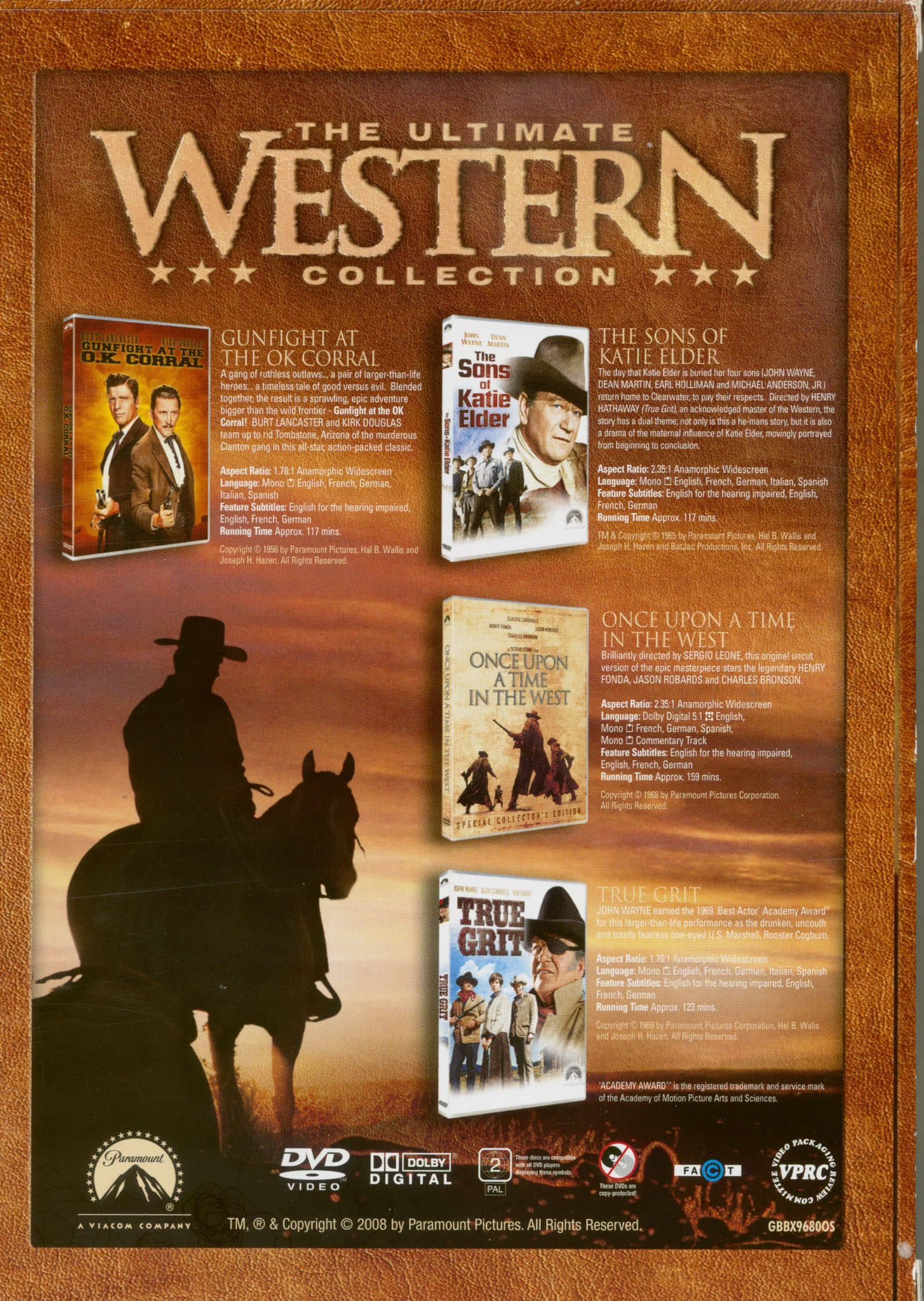 The Ultimate Collection Country Greats: Movie-Spielfilm DVD: The Ultimate Western Collection (5