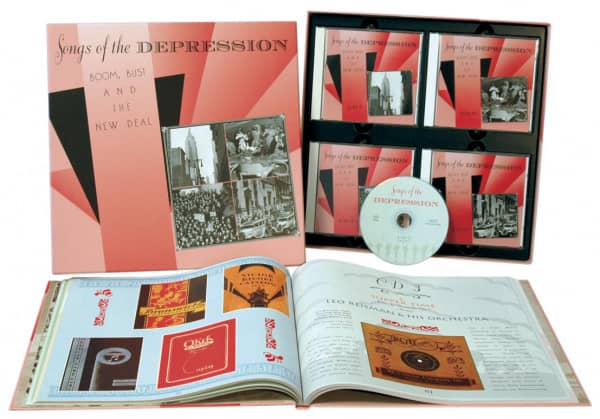 Songs Of The Depression (4-CD)