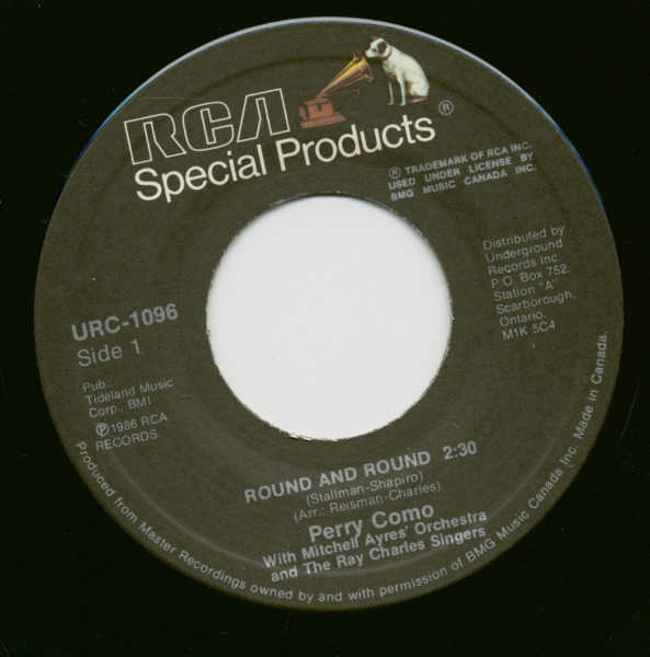 Round And Round - Don´t Let The Stars Get In Your Eyes (7inch, 45rpm)