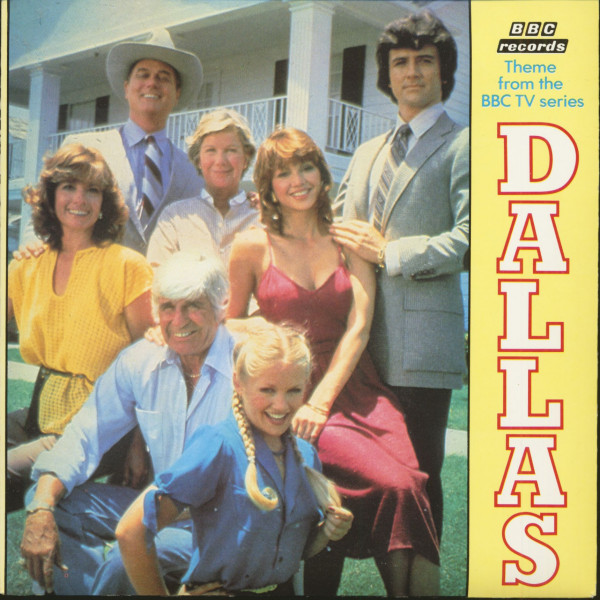Theme From The TV Series Dallas (7inch, 45rpm, PS, SC)