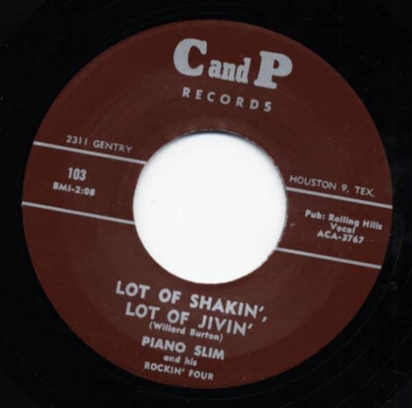 Lot of Shakin' Lot Of Jivin' b-w Key Jammer 7inch, 45rpm