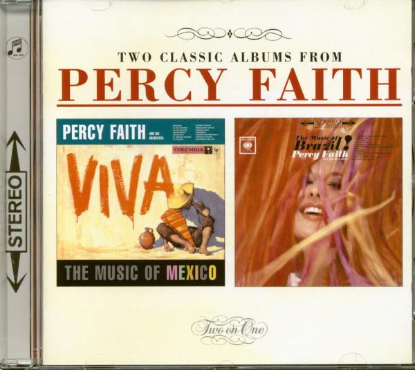 Viva The Music Of Mexico - The Music Of Brazil (CD)
