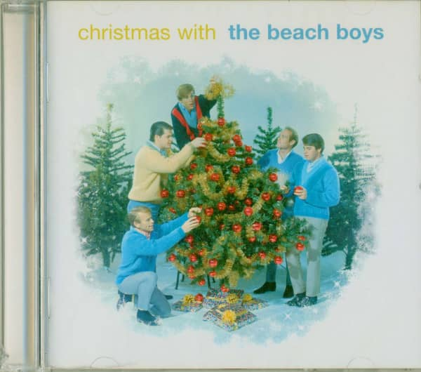 Christmas With The Beach Boys (Tree Cover) (CD)