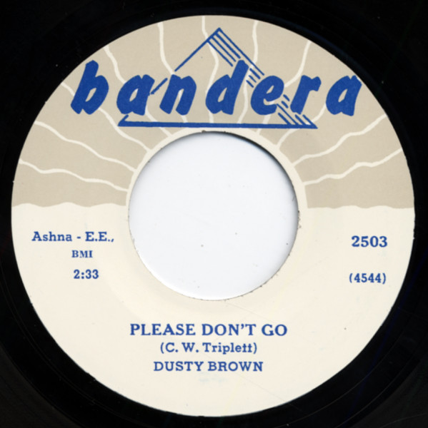 Please Don't Go b-w Well, You Know 7inch, 45rpm