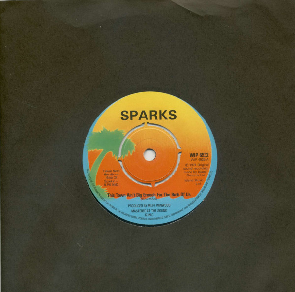 This Town Ain't Big Enough For The Both Of Us - Looks, Looks, Looks (7inch, 45rpm)