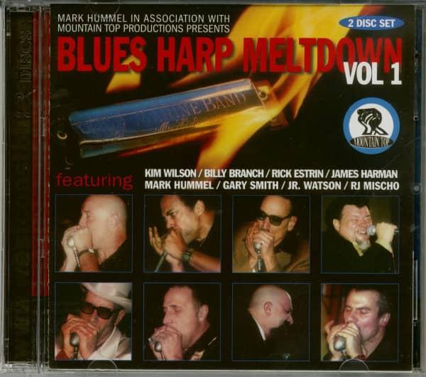 Blues Harp Meltdown Vol.1 (2-CD)