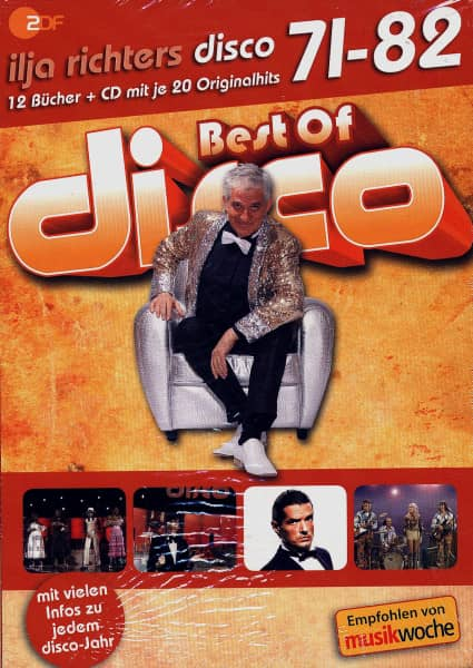 Best Of Disco 71-82 (12 CDs + Book)