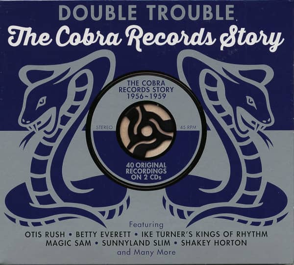 Double Trouble - Cobra Records Story (2-CD)