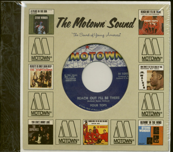Complete Motown Singles Vol.6 1966 (5-CD and bonus 45rpm)