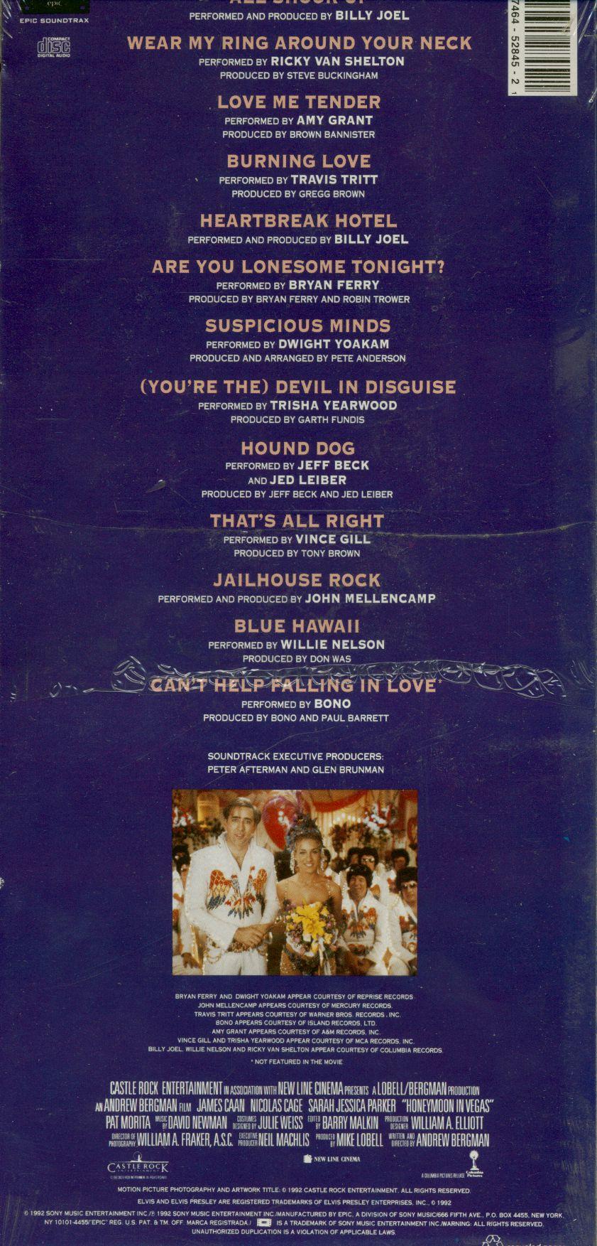 Various CD: Honeymoon In Vegas