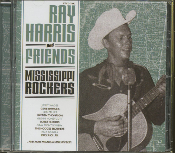 Mississippi Rockers - Ray Harris And Friends (CD)