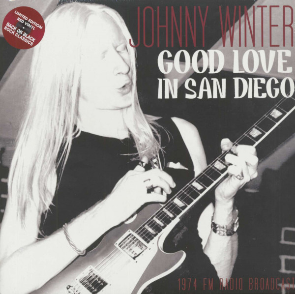 Good Love In San Diego (2-LP)(Limited edition - red vinyl)