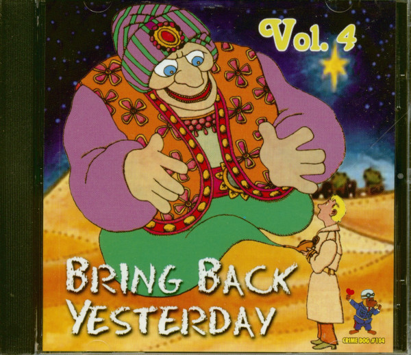 Bring Back Yesterday Vol.4 (CD)