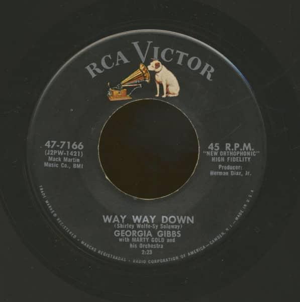 Way Way Down - You're Doin' It (7inch, 45rpm)