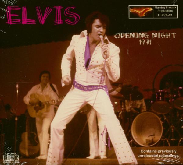 Elvis Presley Opening Night 1971 (CD)