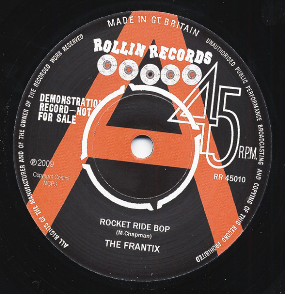 Rocket Ride Bop - Rock & Roll Fever 7inch, 45rpm, SC