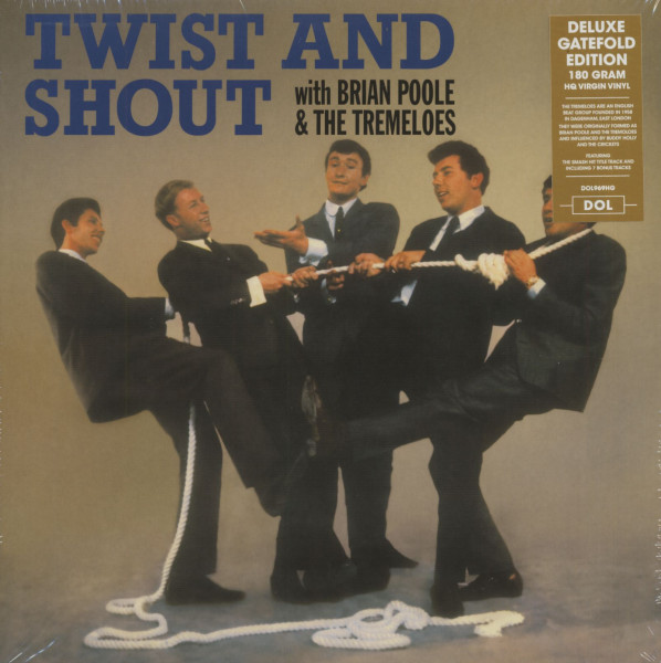 Twist And Shout With Brian Poole & The Tremeloes (LP, 180g Vinyl)