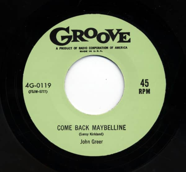 Come Back Maybelline b-w Bottle It Up Amd Go 7inch, 45rpm