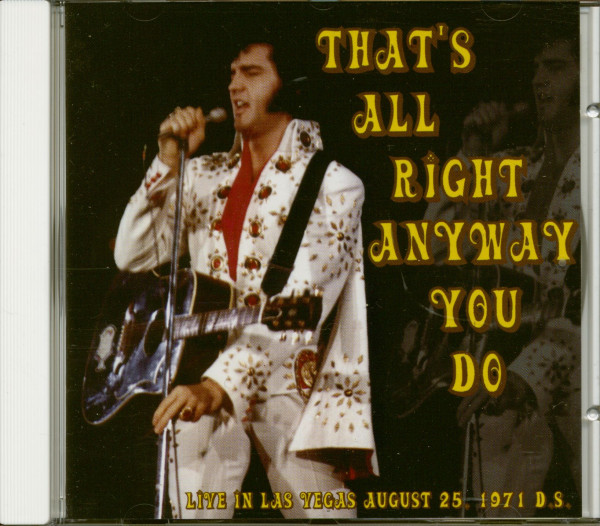 That's All Right Anyway You Do (CD)