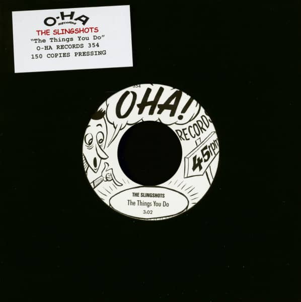 The Things You Do (7inch, 45rpm, Ltd.)