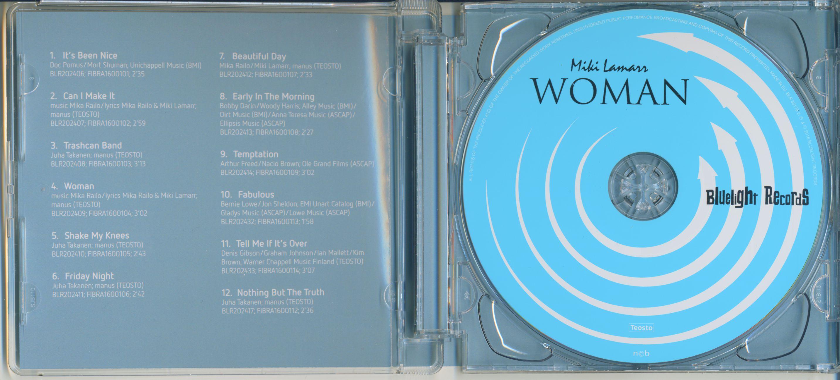 Miki Lamarr Woman (CD)