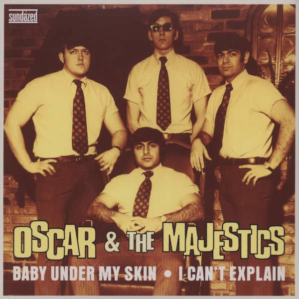 Baby Under My Skin - I Can't Explain 7inch, 45rpm, PS