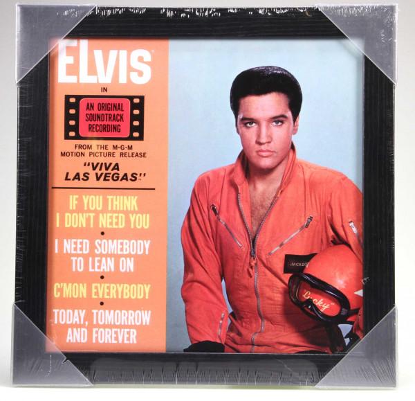 Framed Album Cover Print - Viva Las Vegas (36.5x36.5cm)
