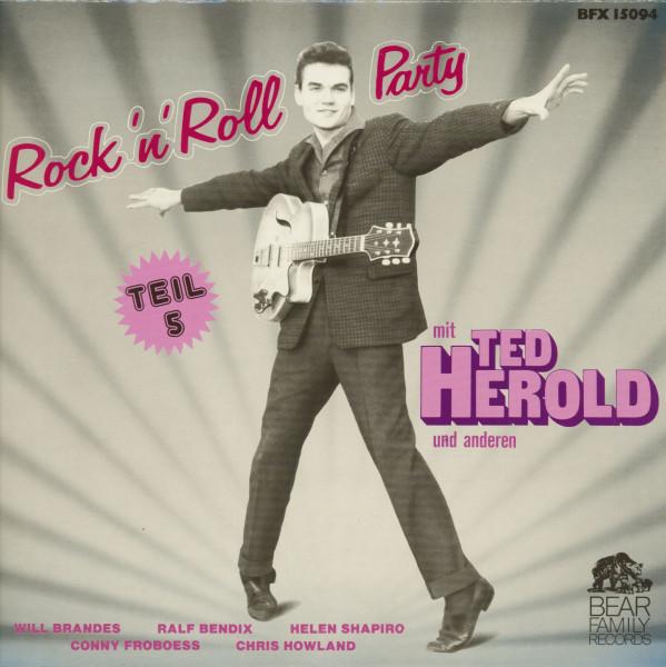 Rock'n'Roll Party mit Ted Herold und anderen - Teil 5 (LP)